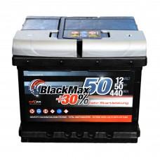 Аккумулятор BlackMax 6СТ-50Ah АзЕ B3004 (440EN)