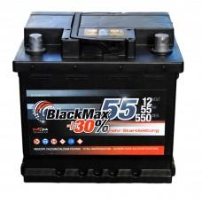 Аккумулятор BlackMax 6СТ-55Ah АзЕ B5002 (550EN) Евро