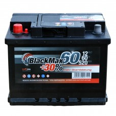 Аккумулятор BlackMax 6СТ-60Ah Аз B4006 (520EN)