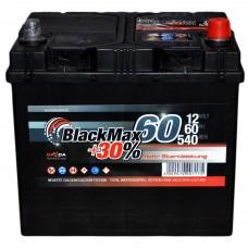 Аккумулятор BlackMax 6СТ-60Ah АзЕ B4024 ASIA (540EN)
