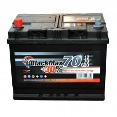 Аккумулятор BlackMax 6СТ-70Ah Аз B4027 ASIA (620EN)