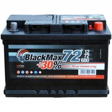 Аккумулятор BlackMax 6СТ-72Ah АзЕ B4007 (680EN)