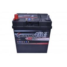 Автомобильный аккумулятор BlackMax 6СТ-40Ah Аз ASIA 330A (EN) ТК B4019