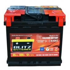Аккумулятор BLITZ BATTERIES 6СТ-45Ah Аз B3003 (400EN)