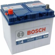 Аккумулятор BOSCH 6СТ-60 Аз S4 Asia (S4025), (540EN)