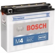 Аккумулятор мото Bosch M4 Fresh Pack 16Ah Ев M4F40 (120EN) 0092M4F400