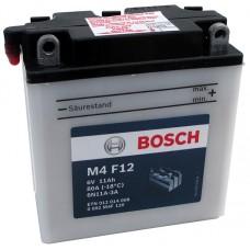 Аккумулятор мото Bosch M4 Fresh Pack 12Ah Ев M4F12 (80EN) 0092M4F120