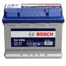 Аккумулятор BOSCH S4 6СТ-60Ah Аз (S4006) (540EN)