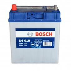 Аккумулятор BOSCH S4 6СТ-40Ah Аз (S4019) АЗИЯ TK (330EN)