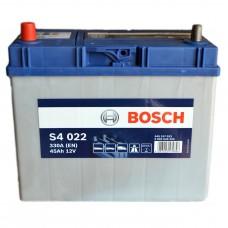 Аккумулятор BOSCH S4 6СТ-45Ah Аз (S4022) АЗИЯ ТК (330EN)