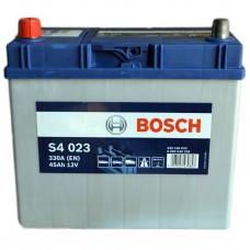 Аккумулятор BOSCH S4 6СТ-45Ah Аз (S4023) АЗИЯ (330EN)