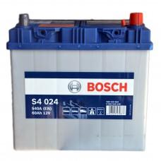 Аккумулятор BOSCH S4 6СТ-60Ah АзЕ (S4024) АЗИЯ (540EN)