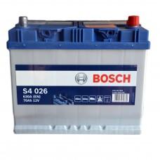 Аккумулятор BOSCH S4 6СТ-70Ah АзЕ АЗИЯ Евро (S4026) (630EN)