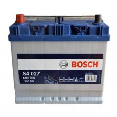 Аккумулятор BOSCH S4 6СТ-70Ah Аз АЗИЯ (S4027) (630EN)
