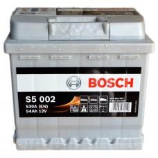 Аккумулятор BOSCH S5 6СТ-54Ah АзЕ S5002 (530EN)