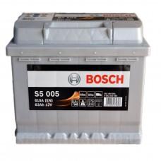 Аккумулятор BOSCH 6СТ-63Ah H АзЕ S5005 (610EN) (610EN)