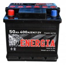 Аккумулятор ENERGIA 6СТ-50 Аз (400EN)