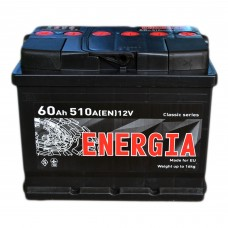 Аккумулятор ENERGIA 6CT-60 Аз (510EN)