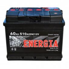 Аккумулятор ENERGIA 6СТ-60 АзЕ (510EN)
