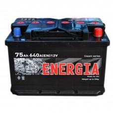 Аккумулятор ENERGIA 6СТ-75 АзЕ (640EN)