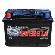 Аккумулятор ENERGIA 6СТ-75 Аз, (640EN)