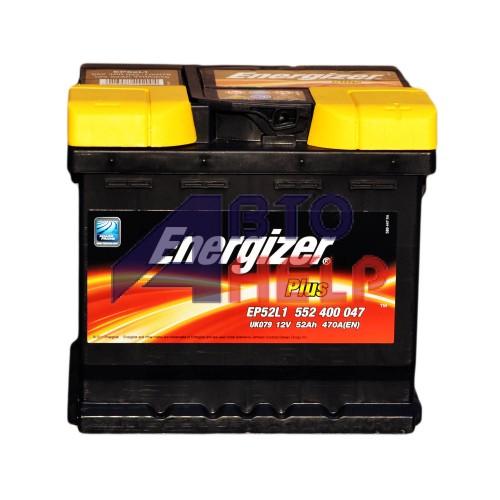 Аккумулятор ENERGIZER Plus 6СТ-52Ah АзЕ (EN470)