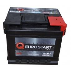 Автомобильный аккумулятор EUROSTART 6СТ-50Ah АзЕ 430A (EN) 550012043