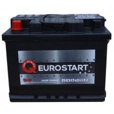 Автомобильный аккумулятор EUROSTART 6СТ-50Ah Аз 430A (EN) 550066043