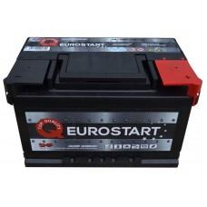 Автомобильный аккумулятор EUROSTART 6СТ-74Ah АзЕ 700A (EN) 574014070