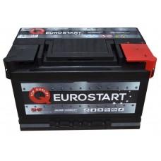 Автомобильный аккумулятор EUROSTART 6СТ-77Ah АзЕ 740A (EN) 577046074