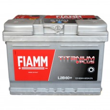 Аккумулятор FIAMM 6СТ-60 АзЕ TITANIUM Plus (600EN)