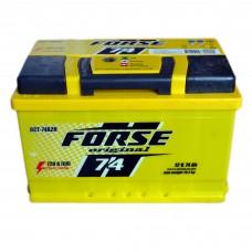 Аккумулятор FORSE 6СТ-74 АзЕ (720EN)
