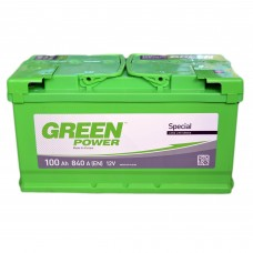 Аккумулятор GREEN POWER 6СТ-100 АзЕ (840EN)