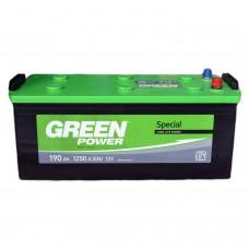 Аккумулятор GREEN POWER 6СТ-190 Аз (1250EN)