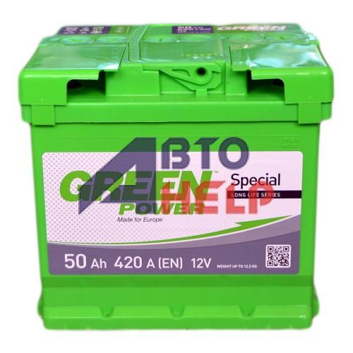 Аккумулятор GREEN POWER 6СТ-50 Аз (420EN)