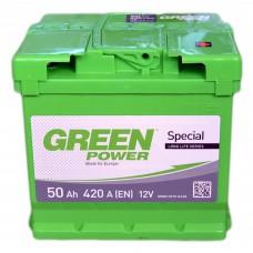Аккумулятор GREEN POWER 6СТ-50 АзЕ (420EN)
