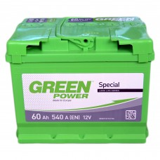 Аккумулятор GREEN POWER 6СТ-60 Аз (540EN)