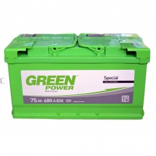 Аккумулятор GREEN POWER 6СТ-75 АзЕ (680EN)