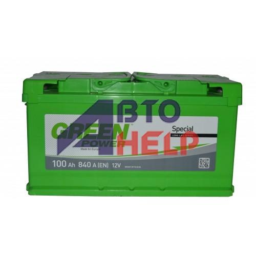 Аккумулятор GREEN POWER 6СТ-100 Аз, (840EN)