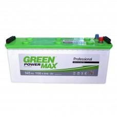 Аккумулятор GREEN POWER 6СТ-145 Аз MAX (1100EN)