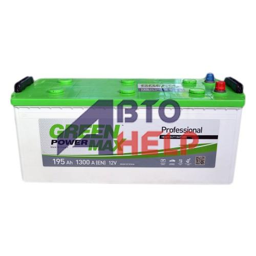 Аккумулятор GREEN POWER 6СТ-195 Аз MAX (1300EN)