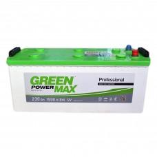 Аккумулятор GREEN POWER 6СТ-230 Аз MAX (1500EN)