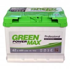 Аккумулятор GREEN POWER 6СТ-62 АзЕ MAX (600EN)