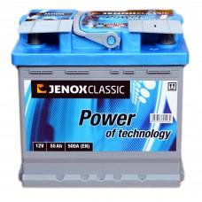 Аккумулятор Jenox 6СТ-55Ah АзЕ Classic (R050612AC), (500EN)