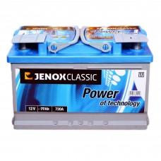 Аккумулятор JENOX 6СТ-77 АзЕ Classic (R074624AC), (720EN)