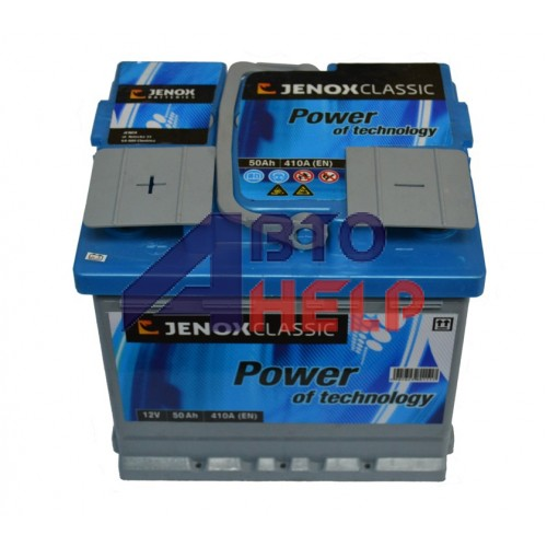 Аккумулятор Jenox 6СТ-50 Аз Classic (R045613AC), (410EN)