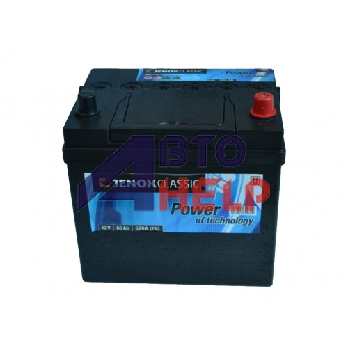 Аккумулятор Jenox 6СТ-65 АзЕ Classic Japanese Asia (R060302K), (520EN)