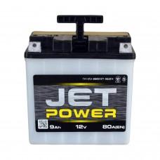 Аккумулятор мото JET POWER 12СТ-9Ah АзЕ (80EN) (клема под болт)