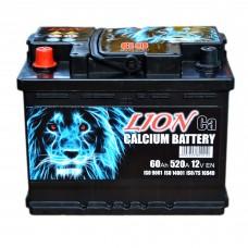 Аккумулятор LION 6СТ-60 Аз (R055615KN) (520EN)