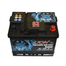 Аккумулятор Lion 6СТ-63 Аз (R062615KN), (560EN)
